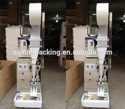 New Product 2017 Automatic tea bag packing machine/sugar packing machine/coffee packing machine