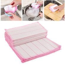 Simple Kitchen Cleaning Cloths Cotton Yarn Dish Towel Multifunction Car Wash Duster Cloth Pot Pan Cleaning Wiping Rags