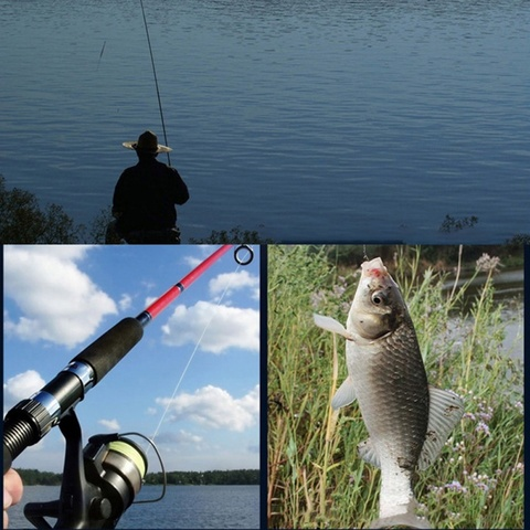 linha de pesca agulha nos empate atador anzol