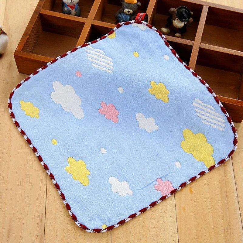 Baby Kinder Neugeborenen Baumwolle Gaze Platz Taschentücher Tiere Wolken Speichel Handtuch 22*23,5 Cm Fs0585 Fortgeschrittene Technologie üBernehmen