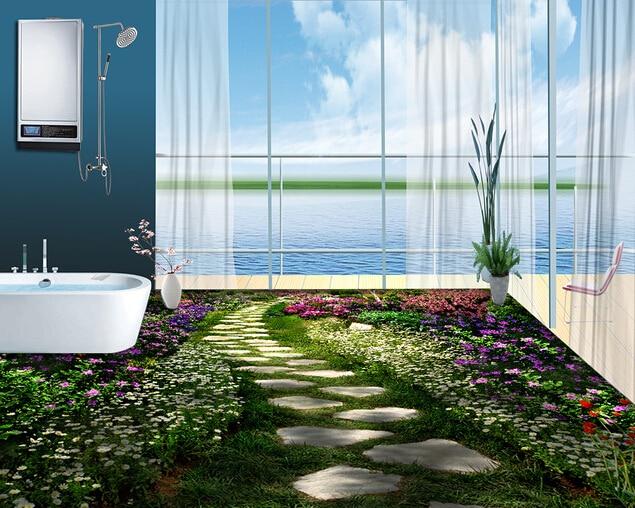 la chine artiste d corative 3d magasins de carrelage en c ramique dans jardin b timents de. Black Bedroom Furniture Sets. Home Design Ideas
