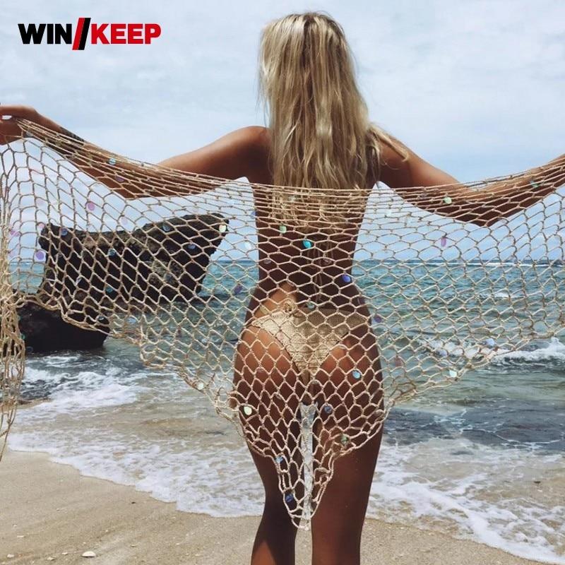 Bathing Cloak Beach Tunic And Beach Dress Strand Jurkjes 2019 Cape For A Swimsuit Tunics For Women Vestido Playa Bikini Cover Up