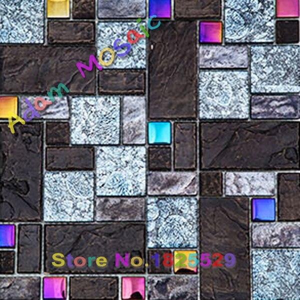 Aliexpress.com : Buy vintage ceramic black tiles glass ...