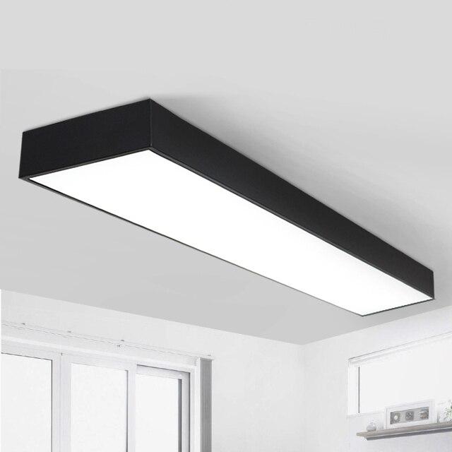 bureau eclairage plafonniers led noir blanc bureau de bureau de plafond eclairage marche chambre studio