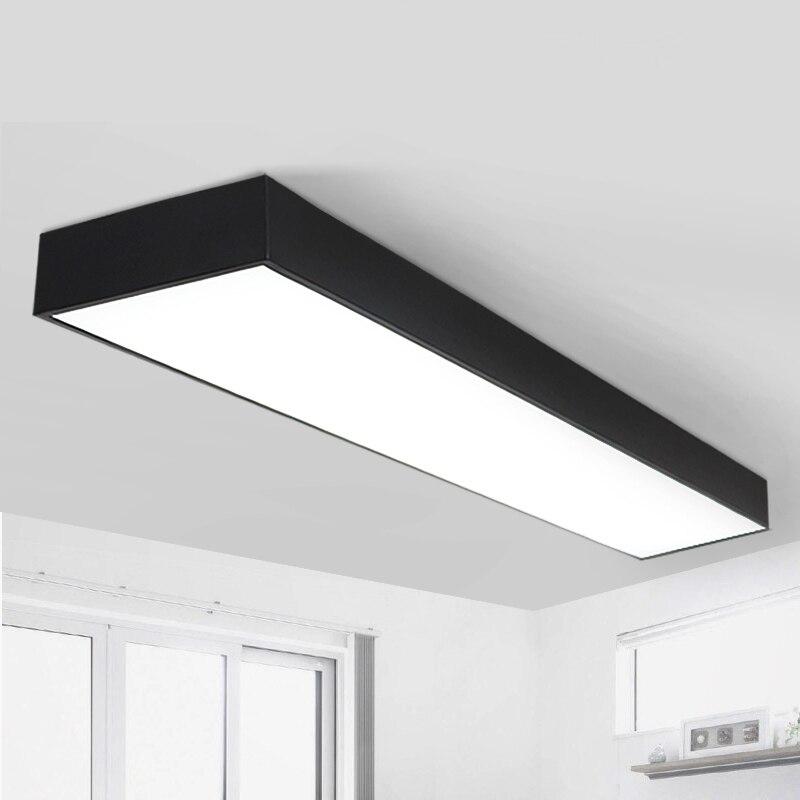 office lighting Ceiling Lights LED Black /white office ceiling office lighting market room studio lighting Ceiling lamps BG9