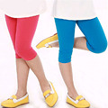 2016 Summer Girls Leggings Candy Color Velvet Baby Girl Legging Pants 24M-8Y Kids Girls Leggings Wholesale Children Pants hot