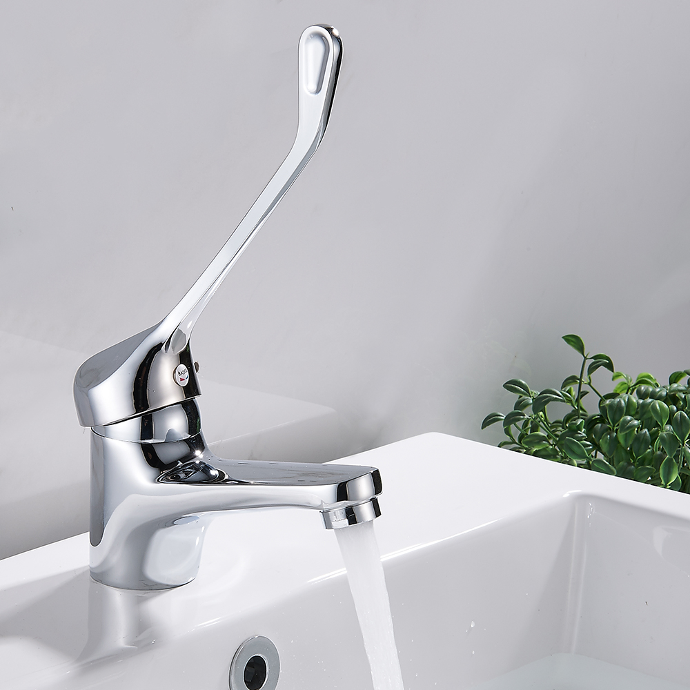 EVERSO Bathroom Faucet Waterfall Basin Faucet Kitchen Faucet Cold ...