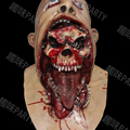 Popular Newest Latex Rubber Devil Mask Halloween Horror Zombie Mask Ghost Scary Mask for hot sale