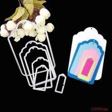 Шесть комплектов сшитых бирок набор штампов для женских рукоделий