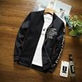 2016 горячие продаем Марка Одежды мужчины Бейсбол Куртка Мужчины Толстовка Колледж Спортивной Куртки Куртка Повседневная Slim Fit Мужская Одежда