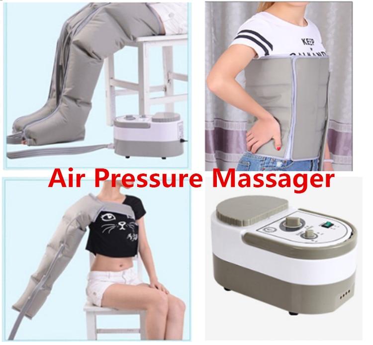 De Pression d'air de Massage Machine Muscle Massager Libération Œdème Varicosités Myophagism Corps Minceur de Réadaptation Livraison Gratuite