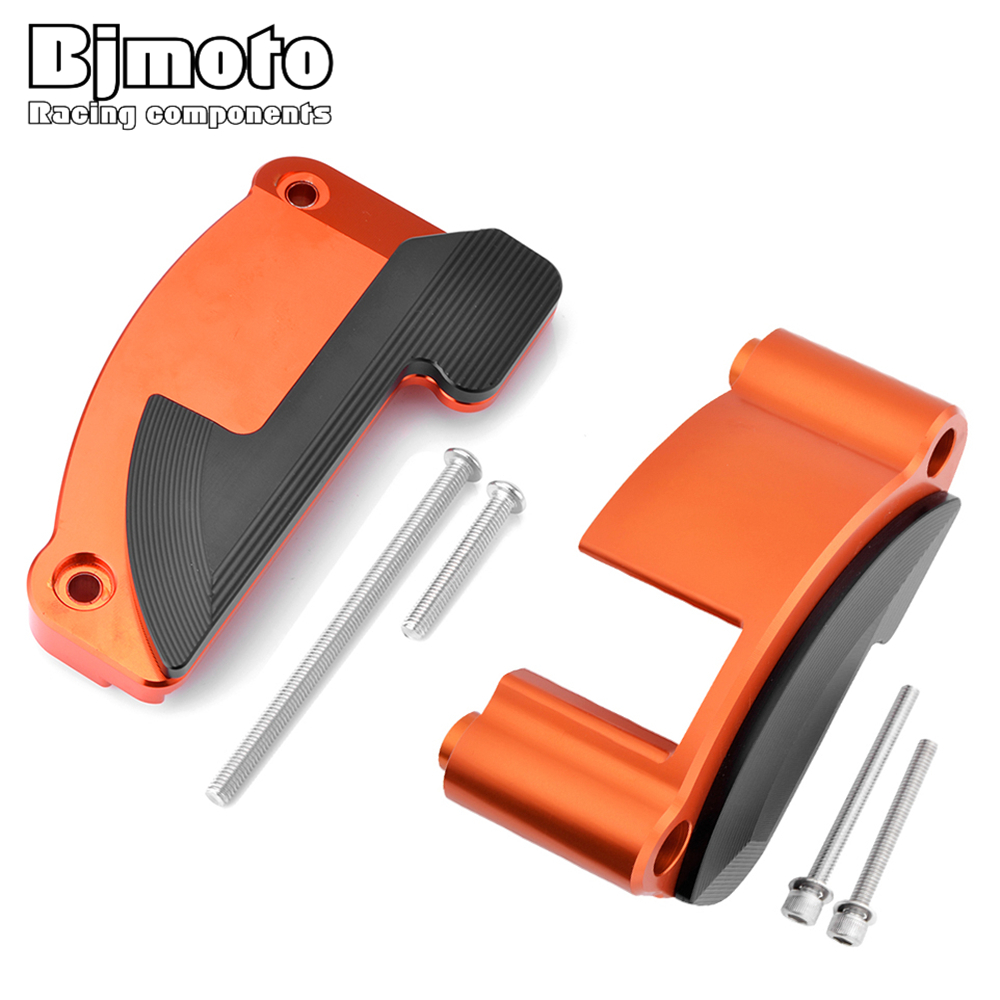 BJMOTO Left and Right Engine Stator Slider Protective Cover Guard Protector For KTM 1050 1090 1190