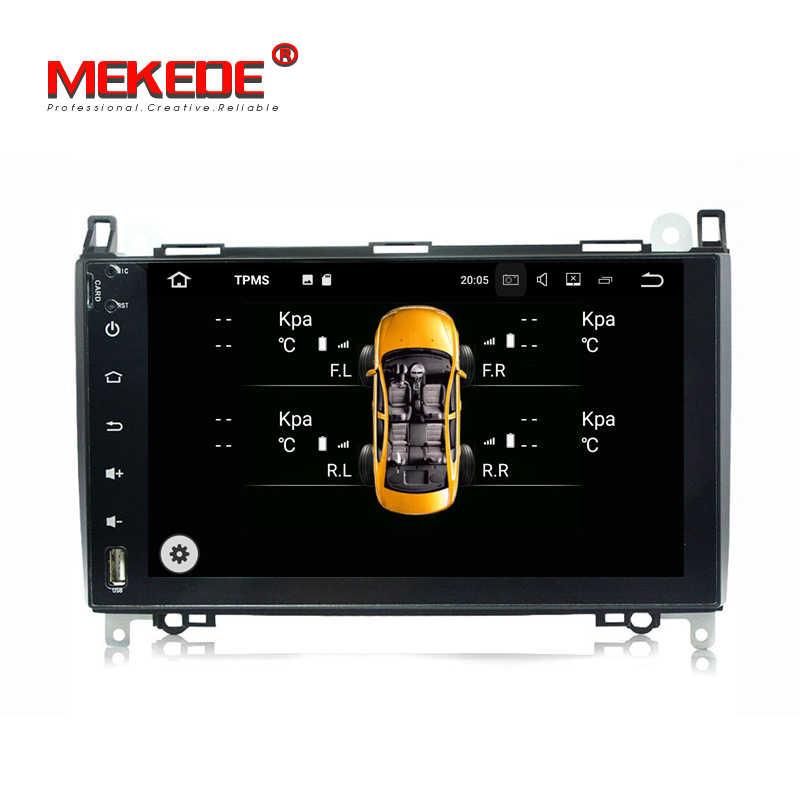 Android 7.1.1 2 Din 9 дюймов Автомобильный DVD GPS, видеоплеер для Mercedes Benz/Sprinter/виано/Вито/B-class/B200/B180 CANBUS 2G Оперативная память радио
