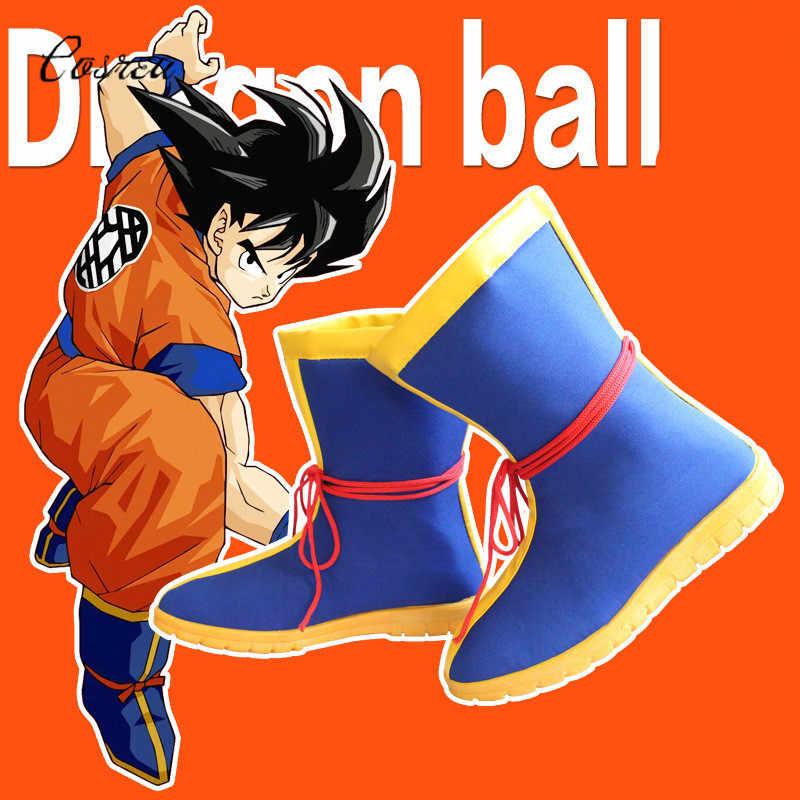 Anime dragon topu Z erkek ayakkabısı Kar Botları Oğlu Goku Kış Kauçuk Kadın Erkek dragon topu Goku Cosplay Kostümleri