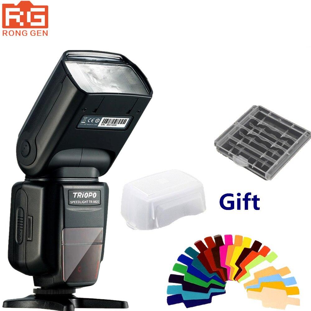 TR 982 II 1 8000 HSS Multi LCD Wireless Master Slave Mode Flash Light Speedlite for