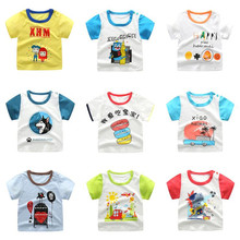 18M-8Y Boys Girls Tops T Shirt Short Sleeve Tops Children Clothes Girls Cotton Toy Story Shirt Kids Clothing Fornite T-Shirts цена