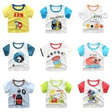 18M-8Y Boys Girls Tops T Shirt Short Sleeve Tops Children Clothes Girls Cotton Toy Story Shirt Kids Clothing Fornite T-Shirts все цены