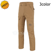 ESDY Brand Mens Summer Thin Embroidery Slim Fit TAD Quick Dry Detachable UV Protection Waterproof Soft Military Tactical Pants