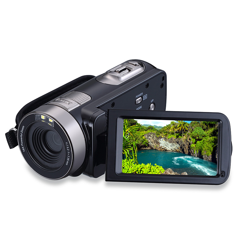 16X 24MP CMOS Sensor Camera Professional Digital Camcorders Digital Zoom Camera Support Remote Control Night Infrare