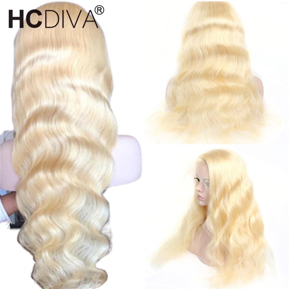 613 Lace Front Wig Transparent Lace Remy Peruvian Body Wave Human Hair Wig Glueless Lace Front