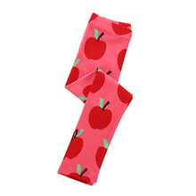 Jumping meters Girls Trousers New Arrival 2019 Apple Print Baby Legging Pants Autumn Fall Children Clothes Pencil Pants For Girl jumping meters new striped girls legging pants 2018 fashion cotton trousers girls clothing children autumn kids pencil pants