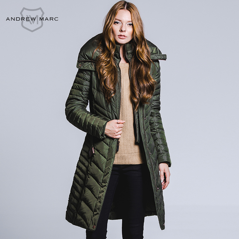 Fashion Women Fashion: ANDREW MARC 2016 Fashion Women's Winter Jacket And Coat