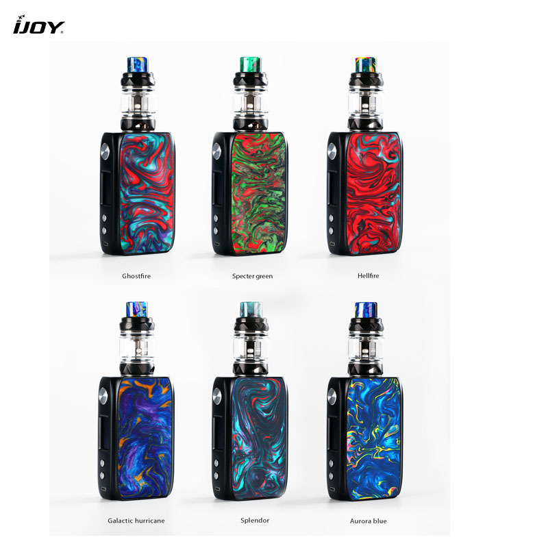 Image 2 - Electronic Cigarettes IJoy Shogun Univ Kit Dual 18650 battery 