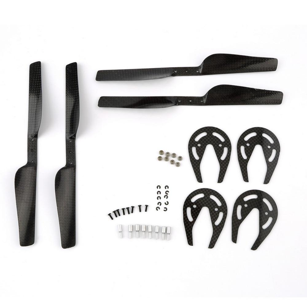 все цены на 1set Hot For Parrot AR Drone 2.0 Parts Carbon Fiber Propeller & Bearing & Gear Guard set