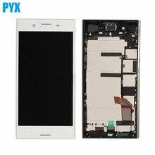 Ban Đầu Màn Hình LCD Cho Sony Cho Xperia XZ Cao Cấp Màn Hình Cảm Ứng LCD Số Hóa Kính Tủ Lắp Ghép Có Khung Miễn Phí Vận Chuyển