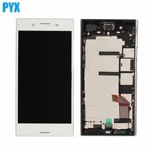 Lcd dorigine pour Sony pour Xperia XZ Premium LCD écran tactile numériser assemblage de panneau de verre avec cadre livraison gratuite