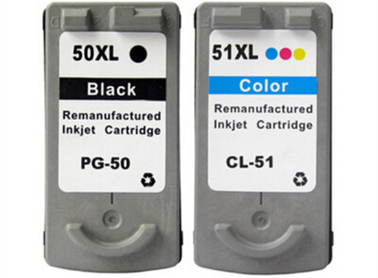 Compatible for Canon PG-50 CL-51 ink  cartridge for iP2200 MP150 160 170 inkjet printer free shipping hot sale антиквариат