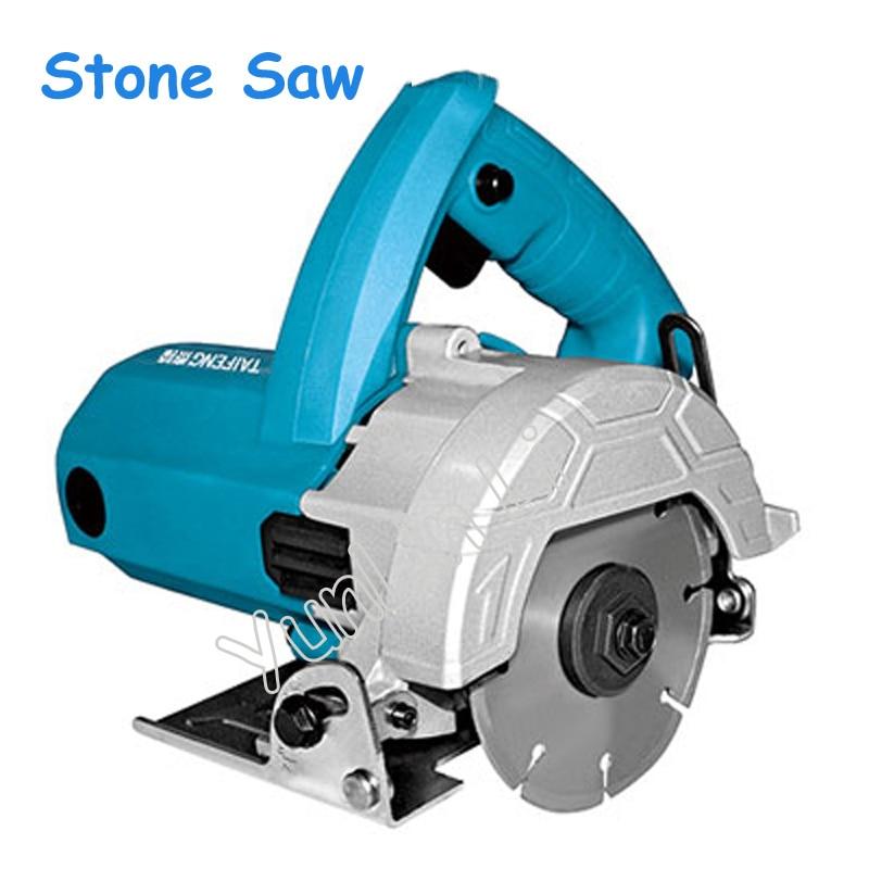 цены 220V 1200W High Power Stone Saw Multi-function Stone Cutting Grooving Machine Wood Slanting Angle Marble Grooving Machine