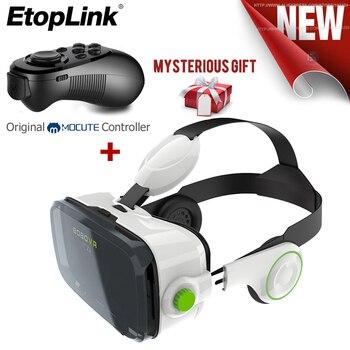 Virtual Reality VR Glasses 2.0 II 3D Glasses BOBOVR Z4 VR Shinecon 2.0 II 6.0  Helmet 3D Video Headset Glasses+Bluetooth Remote