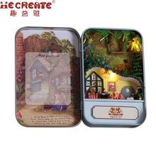 The Squirrel Paradise Wooden DIY Handmade Box Theatre Dollhouse Miniature Box Cute Mini Doll House Assemble Kits Gift Toys