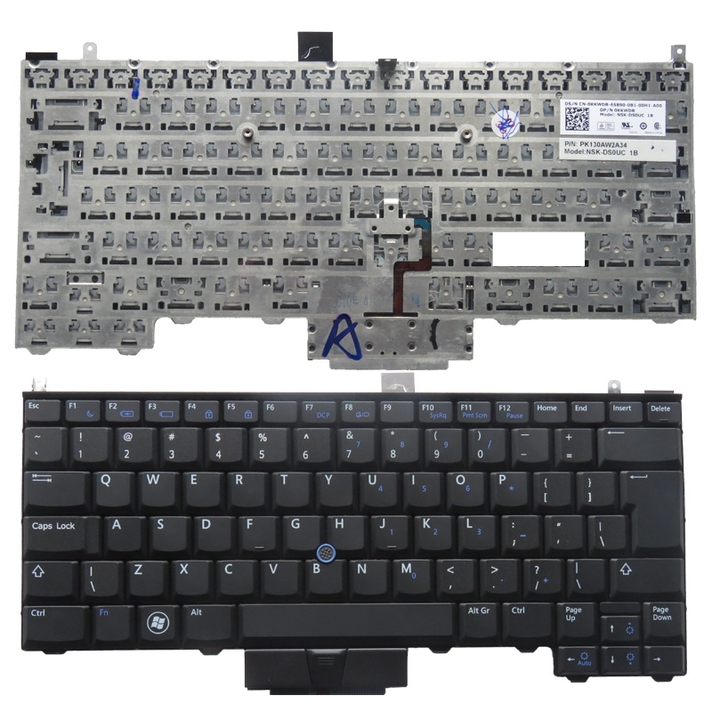 New Keyboard FOR DELL FOR Latitude E4310 UI no backlight laptop keyboard for sony vpceh35yc b vpceh35yc p vpceh35yc w laptop keyboard