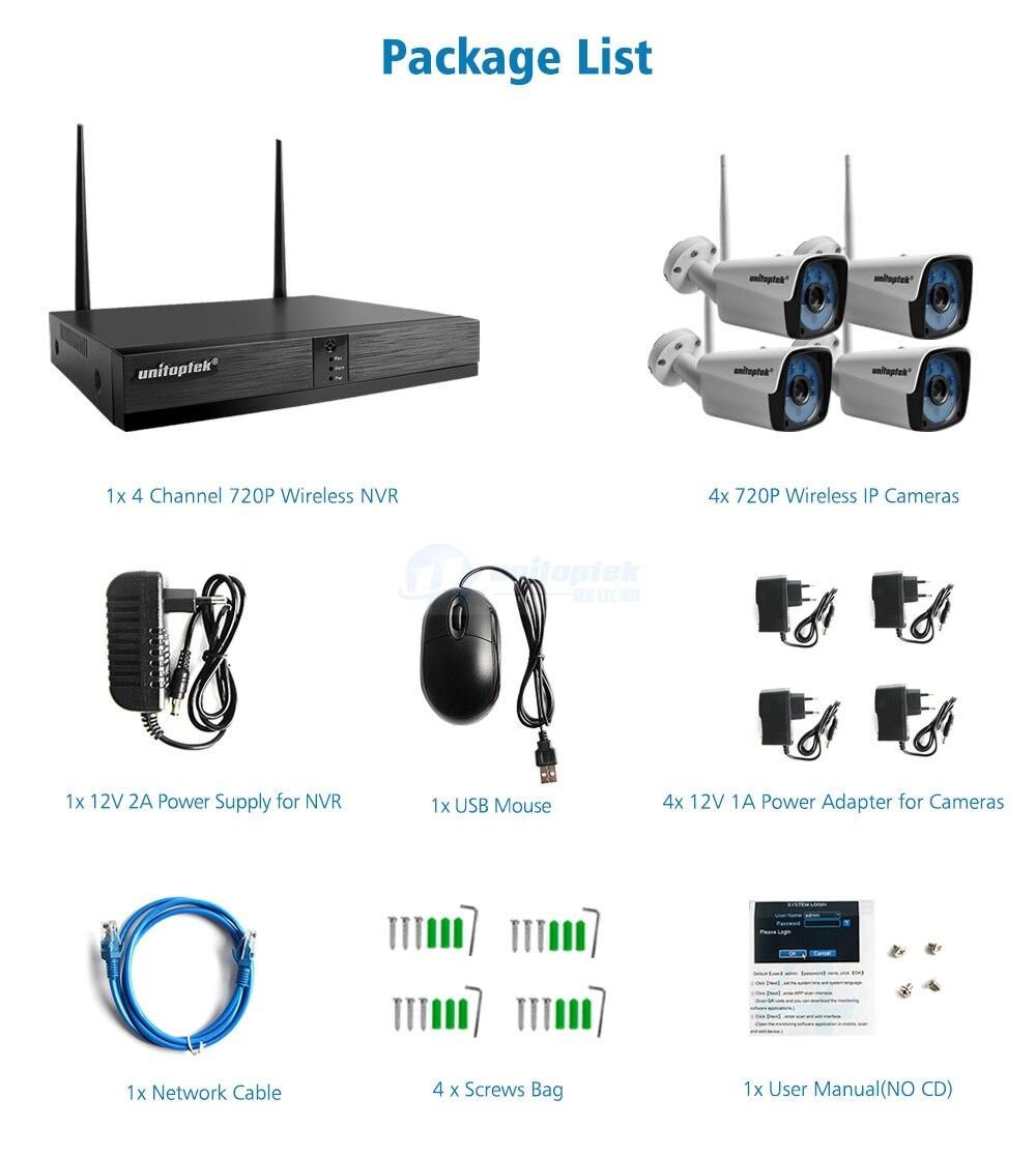 13 720P Wireless Camera Kit
