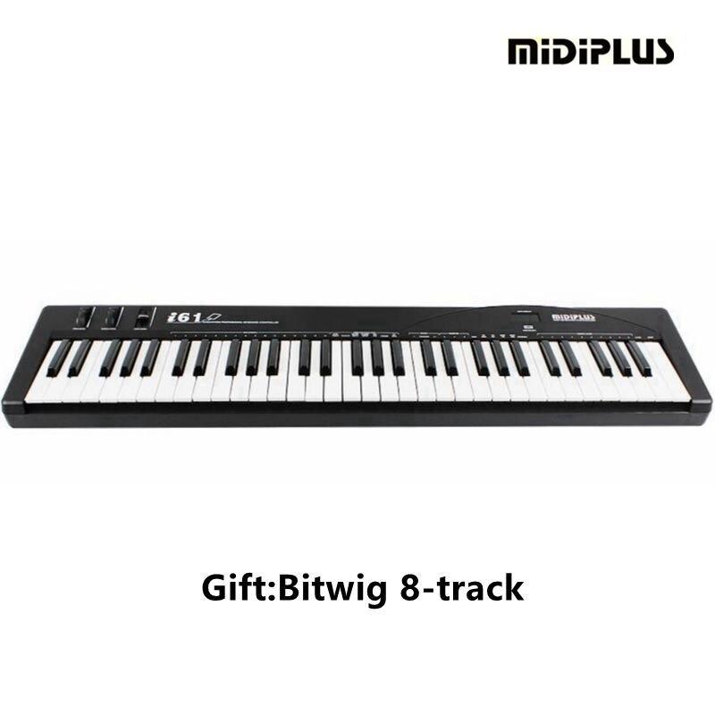 US $165 0 |MIDIPLUS i61 61 Key USB IPAD midi Keyboard For /PC/MAC  Controller & music keyboard & keyboard controller-in Electronic Organ from  Sports &