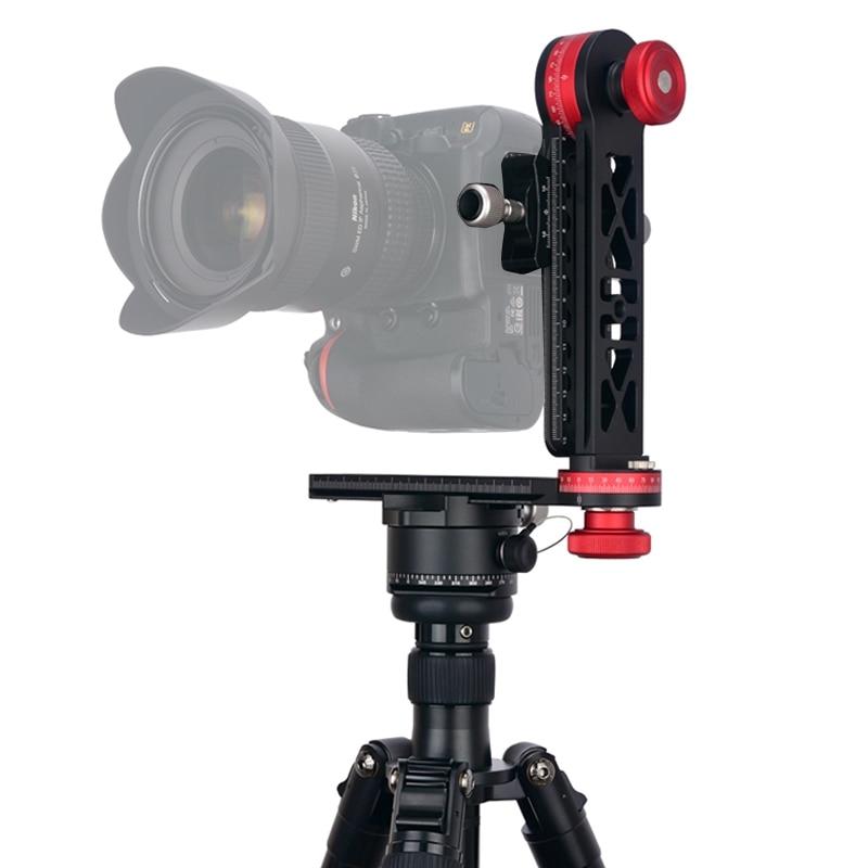 все цены на PULUZ 1/4'' Screw For Canon DSLR Camera Professional 720 Degree Panoramic Aluminum Alloy Ball Head 3/8 Quick Release Plate Kit онлайн