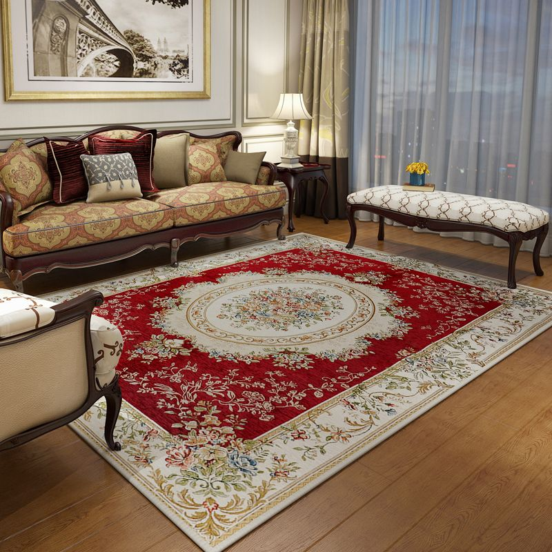 US $72.45 10% OFF 200X290CM Big Europe Classic Carpets For Living Room Home  Bedroom Rugs And Carpets Study Room Floor Mat Soft Table Area Rug-in ...