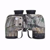 Boshile Military Hunting HD Marine Binoculars 10X50 Zoom Rangefinder Compass Telescope Eyepiece Waterproof Bak4 Camoufl