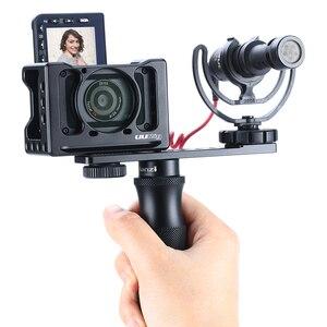 Image 5 - ULANZI PT 7 Lạnh Treo Chân Đế Vlogging Micro Nối Dài Đĩa 1/4 Chân Máy Vít Cho iPhone GoPro Sony RX0 II