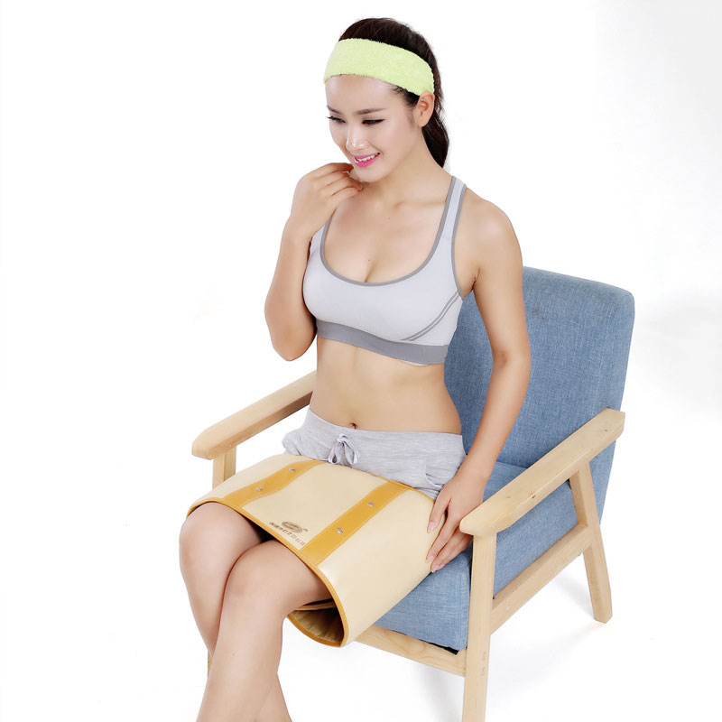 High fever Best Electric Infrared vibration Ray Sauna Waist Slimming Belt Fat Burning Heating fat burner reduction slimming belt waist massager heating vibration sauna gub