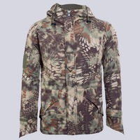 Men S Warm Thick Winter Hooded Jackets Men Military Tactical Camouflage Windbreaker Windproof Waterproof CP Fleece