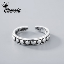 ФОТО chereda silver adjustable stacking midi ring toe knuckle top finger for men women