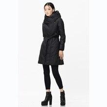 [XITAO] New winter Korean wind fashion style original design solid color zipper slim long form female down & parkas,BCB-006