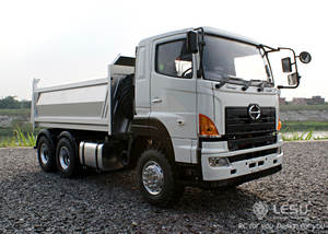 1:14 Dump Truck Hino 6*6 Hydraulic RC vehicle model