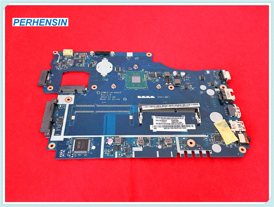 FOR Acer FOR aspire E1-510 E1-510-2500 Motherboard Z5WE3 LA-A621P DDR3 100% WORK PERFECTLY icw50 la 3581p for acer aspire 5520 5520g motherboard la 3581p mb ak302 005 mb ak302 002 tested good free shipping