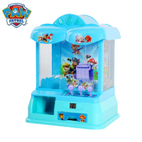 Paw Patrol Action Toy Figures music Grab the doll machine toy household coin to catch the doll boy girl birthday gift
