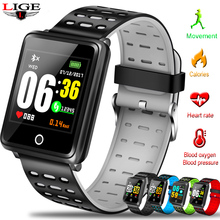 New Women Smart Wristband Sport Bracelet LED Screen Blood Pressure Heart Rate Monitor Pedometer Waterproof Watch For Android ios