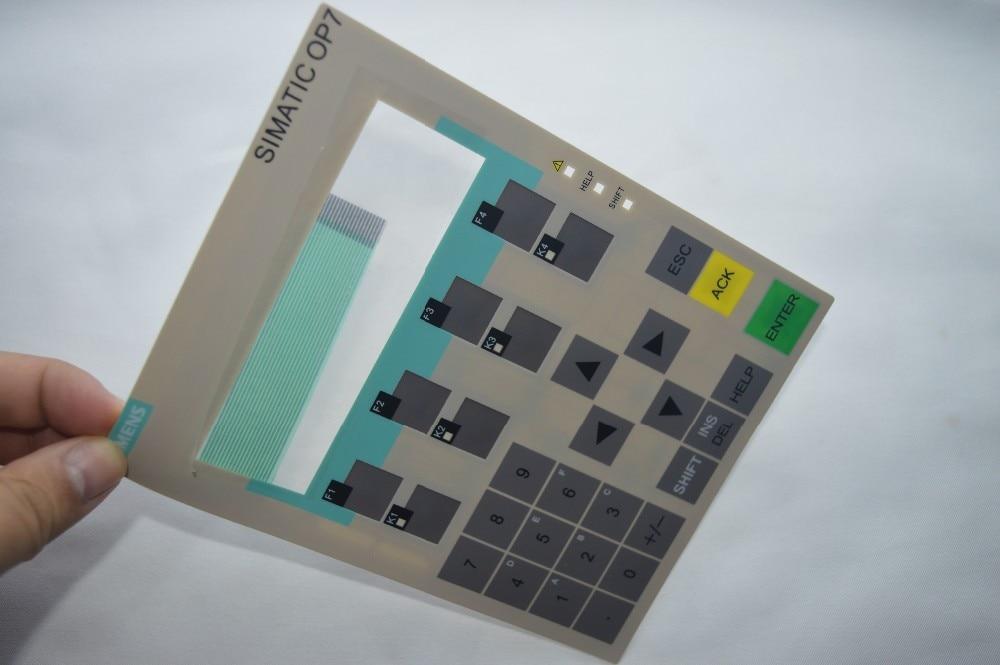6AV3 607-1JC20-0AX1 for OP7/DP Membrane keypad , simatic HMI keypad , IN STOCK 6av3607 1jc00 0ax1 for replace simatic hmi op7 keypad 6av3 607 1jc00 0ax1 membrane switch simatic hmi keypad in stock